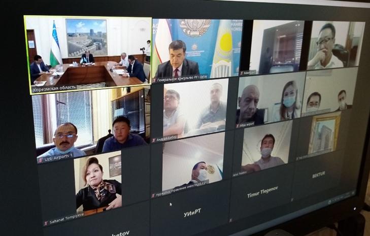 Представители Узбекистана и Казахстана обсудили вопросы открытия регулярного авиарейса между Ургенчем и Актау