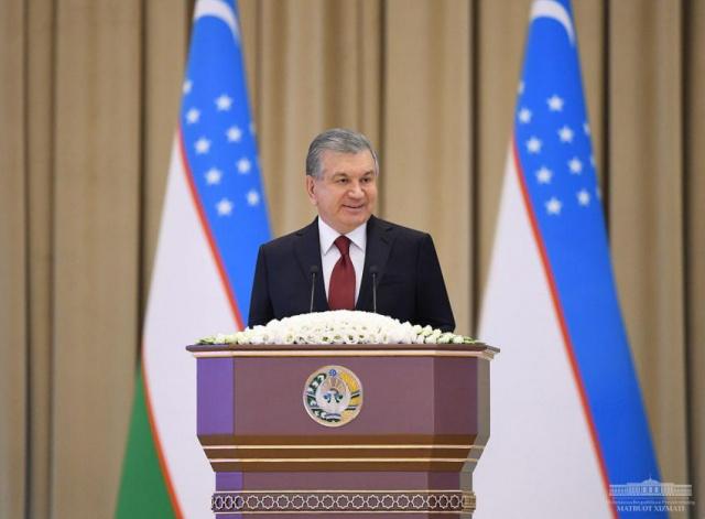 Выступление Президента Республики Узбекистан Шавката Мирзиёева на торжественном собрании, посвященном Дню учителей и наставников