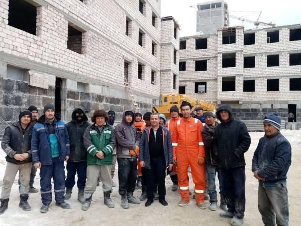 Дипломаты Узбекистана ознакомились с условиями работы и проживания сограждан, работающих в Казахстане
