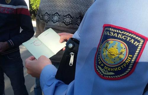 МВД Казахстана предупредило иностранцев об окончании 5 июня сроков временного пребывания на территории страны